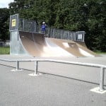 Rail i Traneberg Skatepark