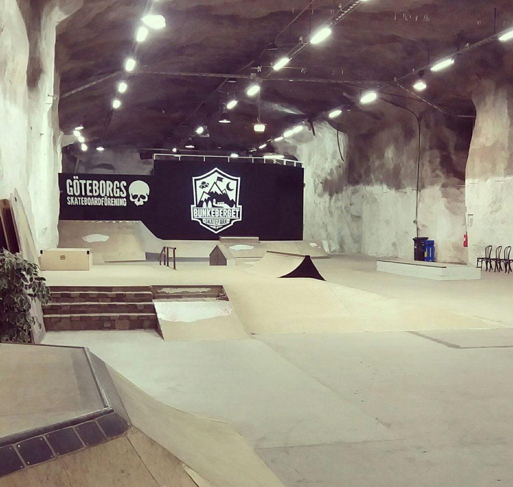 Bunkeberget skatepark i Göteborg