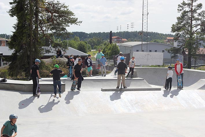 Norrtälje skatepark,