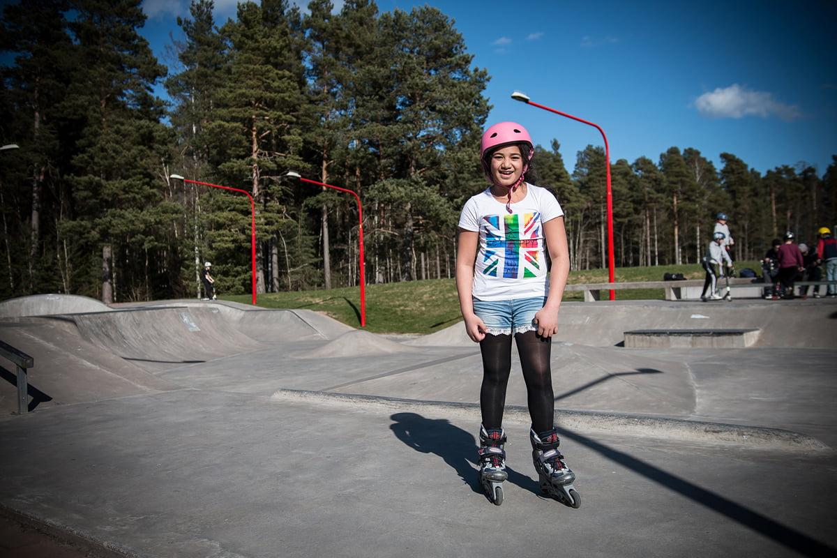 Actionparken Tibro skatepark