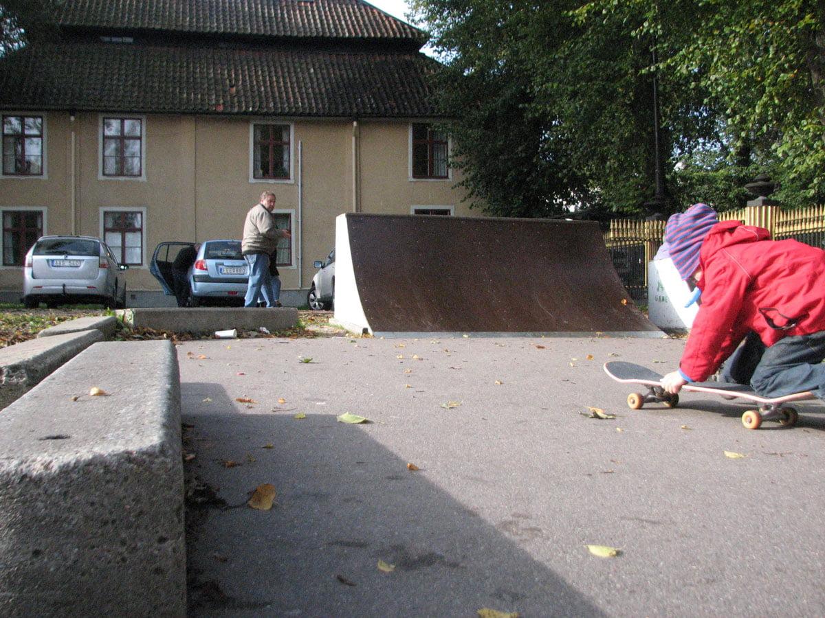 Nicolaiskolans skatepark i Nyköping