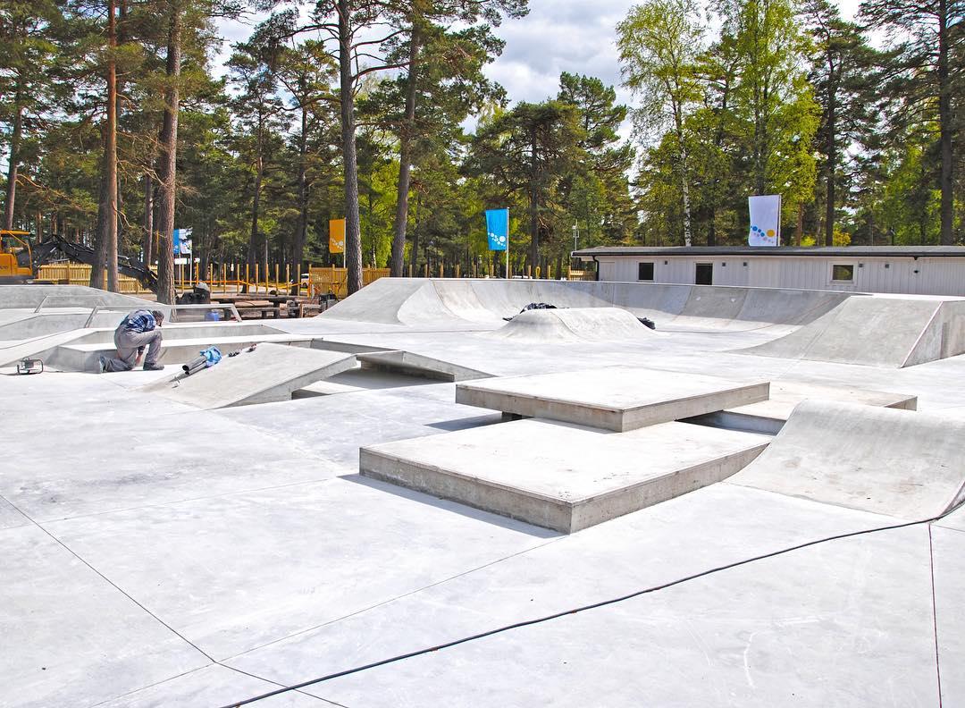 Bäda Sand skatepark, Öland