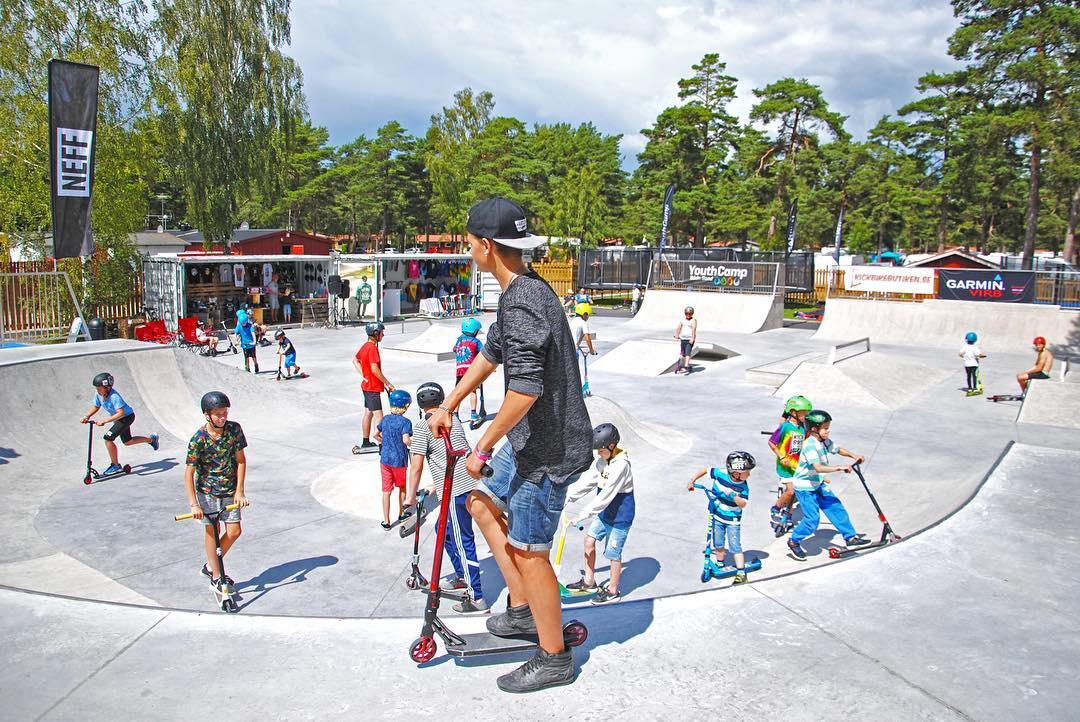 Bäda Sand skatepark Öland