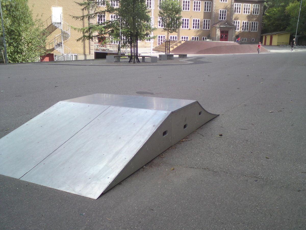 Blommensbergsskolan, Vinterviken
