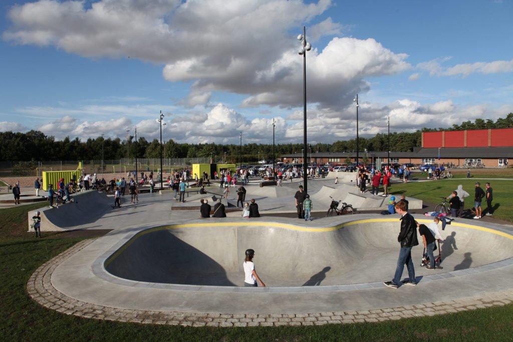 Bowlen i Kävlinge skatepark.