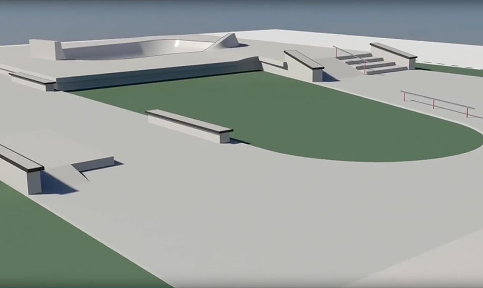 Övik skatepark