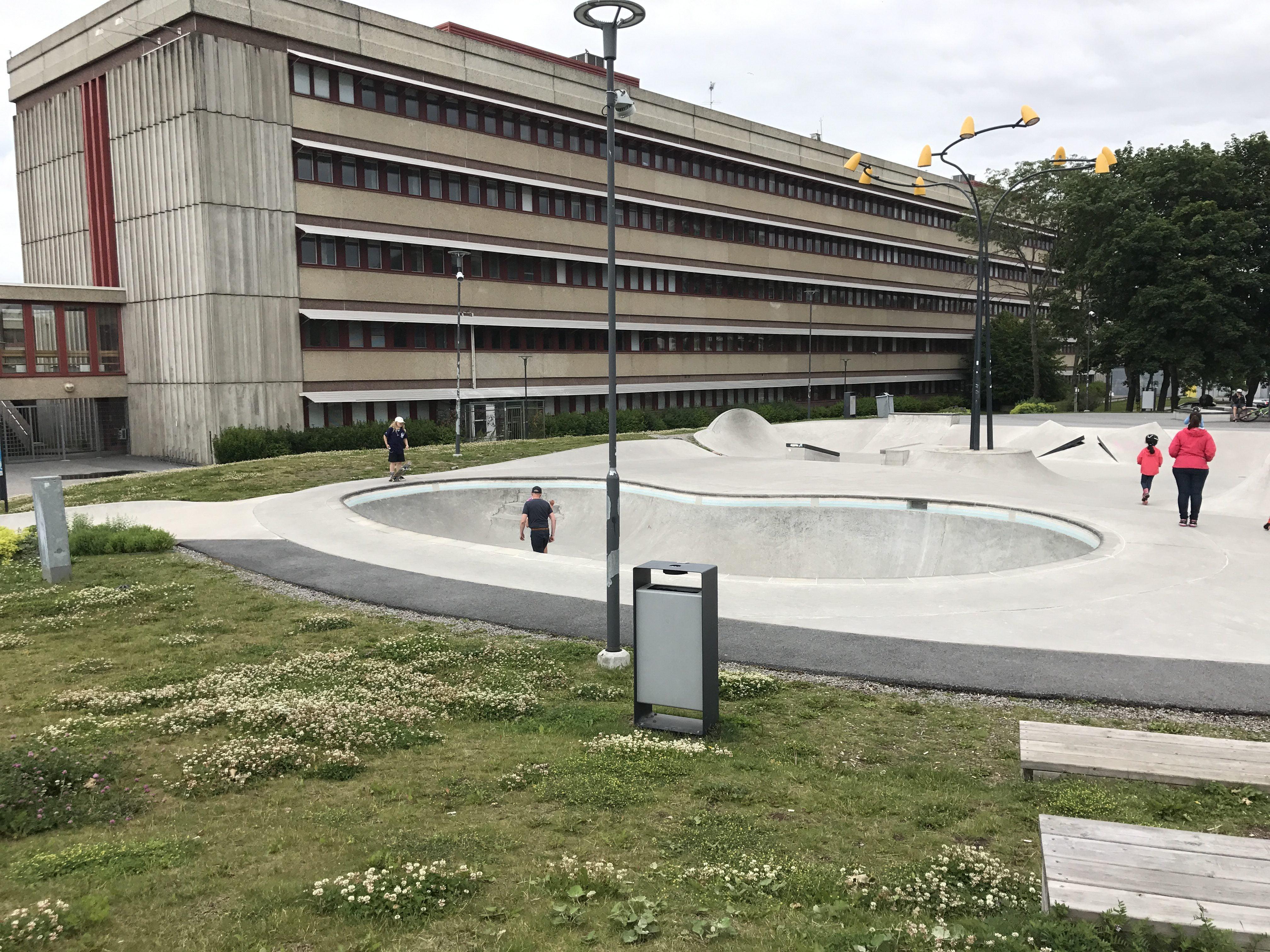 Bowl i Täby skatepark