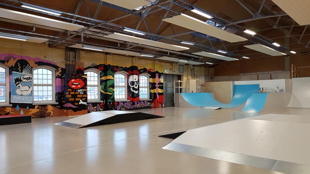 Skatehall i Köping