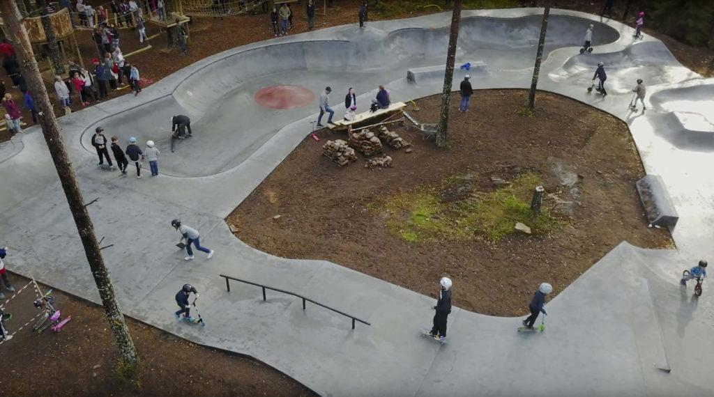 Vildaparken, skatepark i Karlstad.