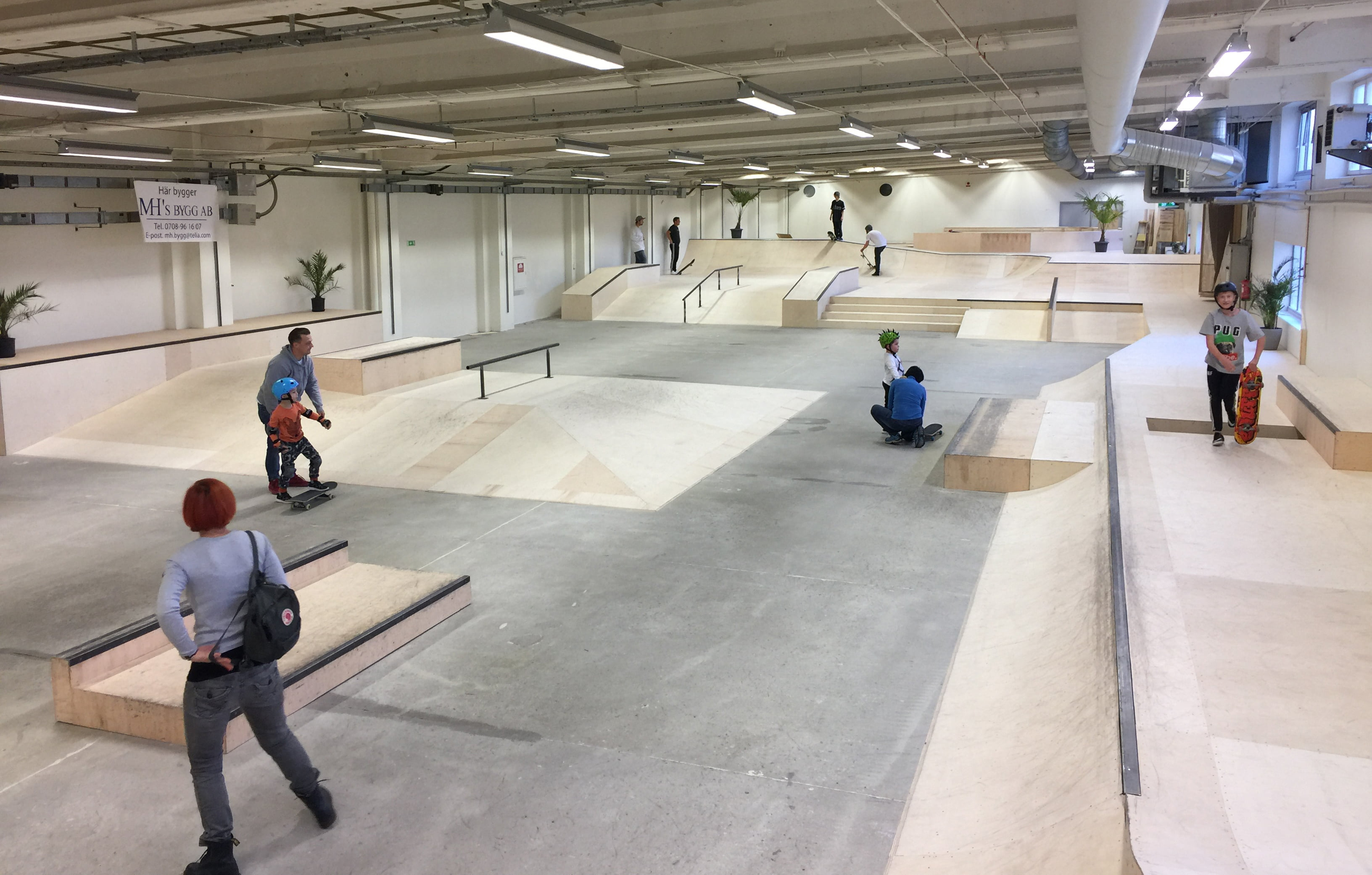 Halda skatehall