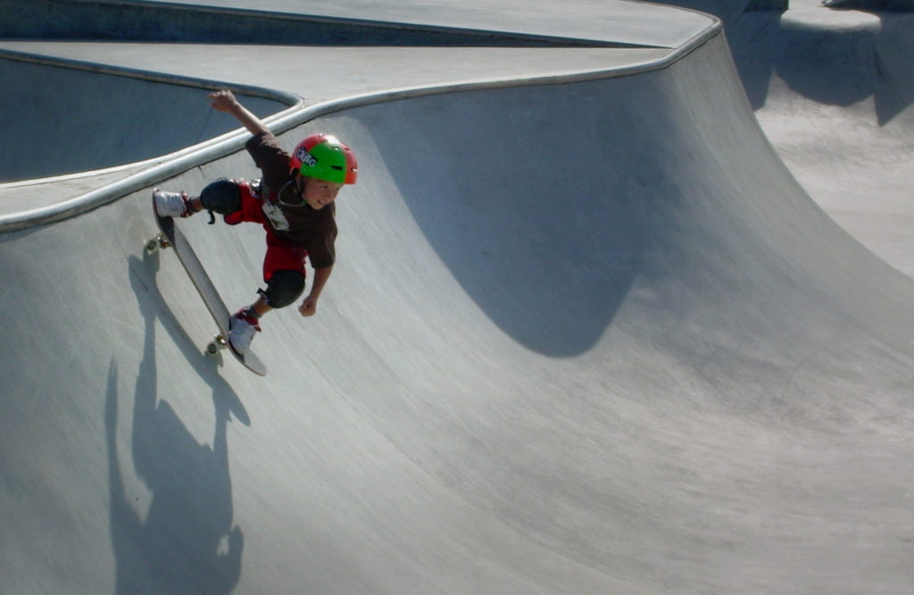 Barn skate skateboard