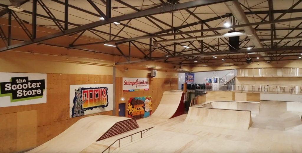 Hangaren skatehall