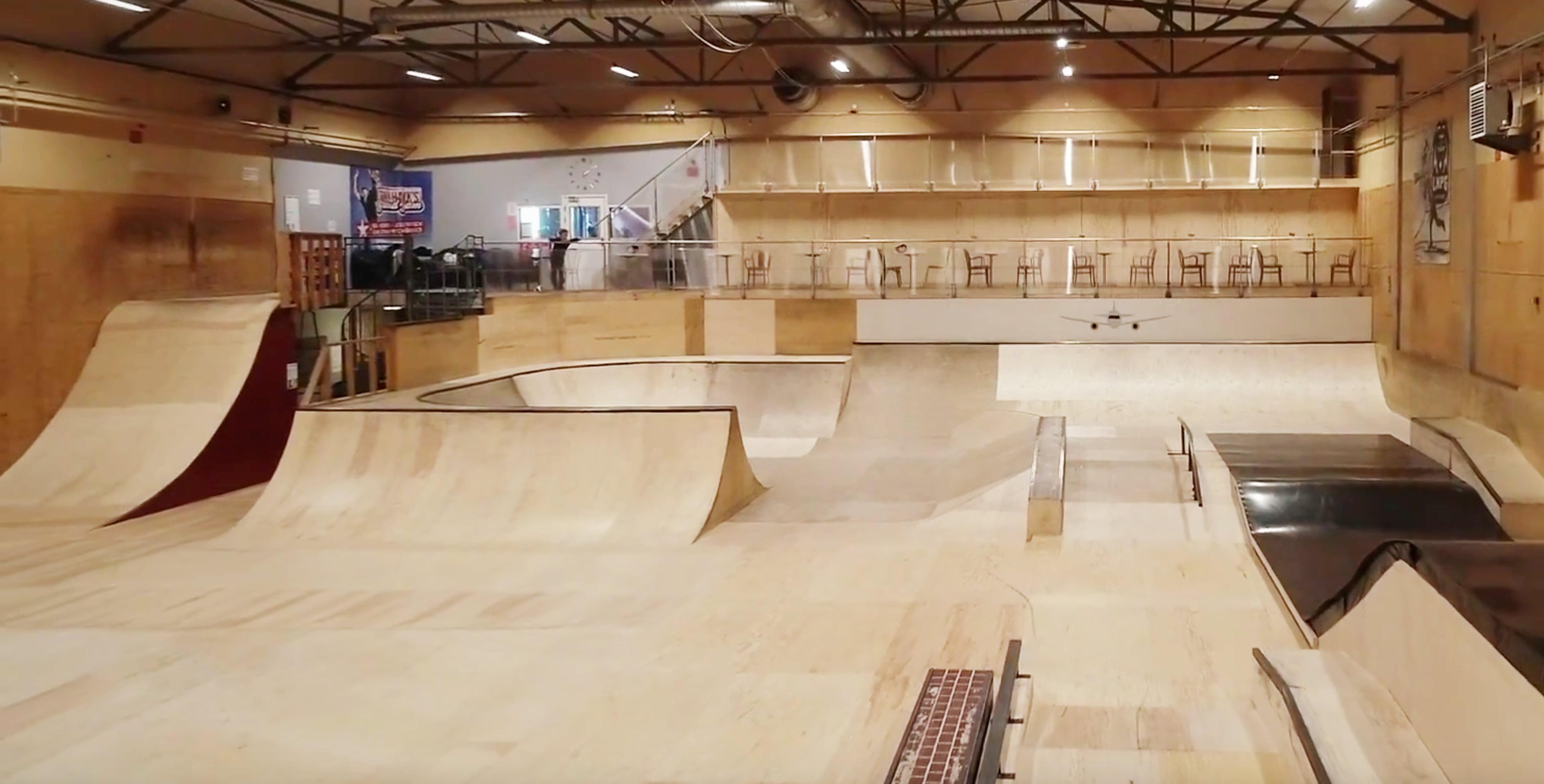 Linkoping Skatehall Hangaren