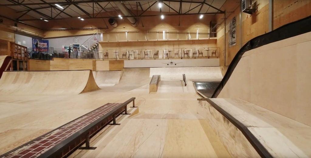 Linkoping skatehall
