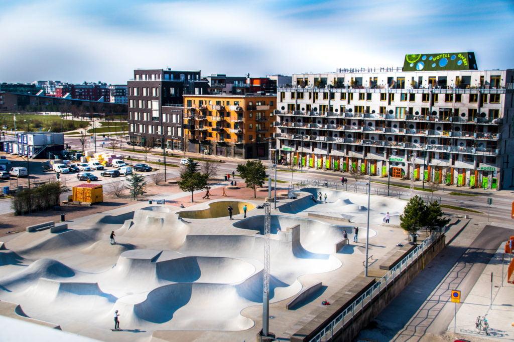 Stapelbäddsparken i Malmö. Foto: Maria Eklind