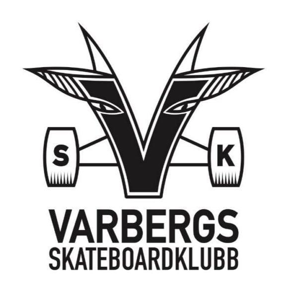 Varberg skatehall, Varbergs skateboardklubb logotyp