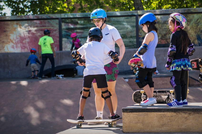 Skateboard barn