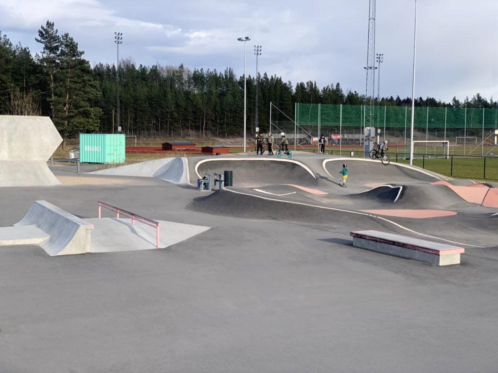 Skatepark i Upplands Väsby.