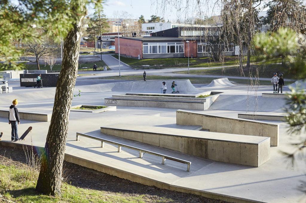 Skateparken i Tyresö