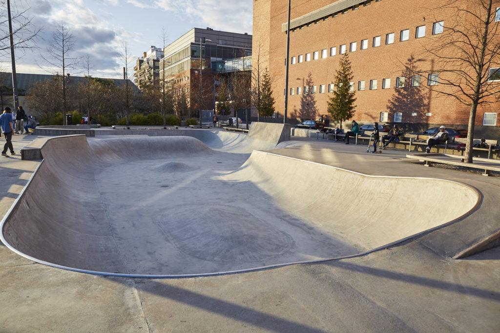 Bolwen i Kristinebergs skatepark