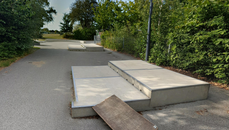 Bjärred skatepark i Lomma