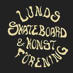 Logo för Lunds Skateboard & Konstförening som driver Östra Torns Skatehall i Lund.