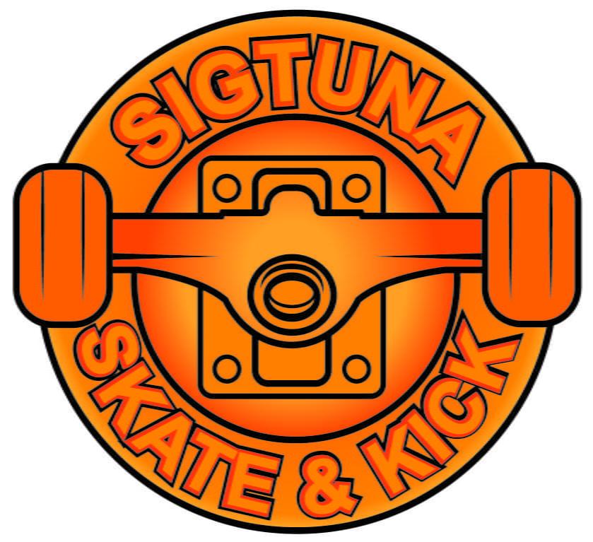 Logotyp för Föreningen Sigtuna Skate o Kick.